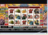 gokautomaten gratis Captain America CryptoLogic